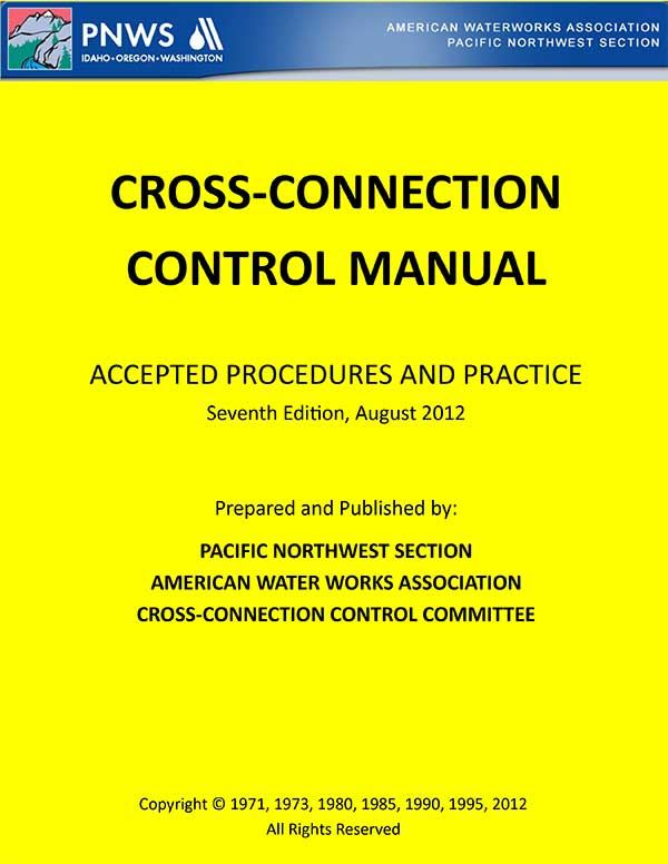 Cross Connection Control Manual